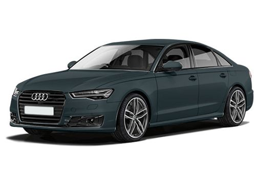 Audi A6 Moonlight Blue Metallic Color