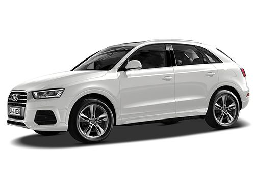 Audi Q3Cortina White Color