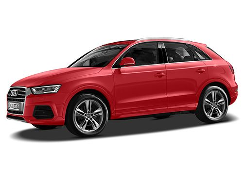 Audi Q3 Misano Red Color
