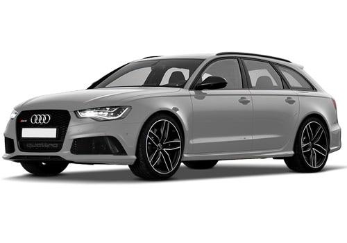 Audi RS6 Avant Glacier white Metallic Color