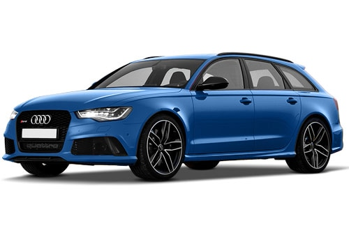 Audi RS6 Avant Sepang Blue Pearl Effect Color