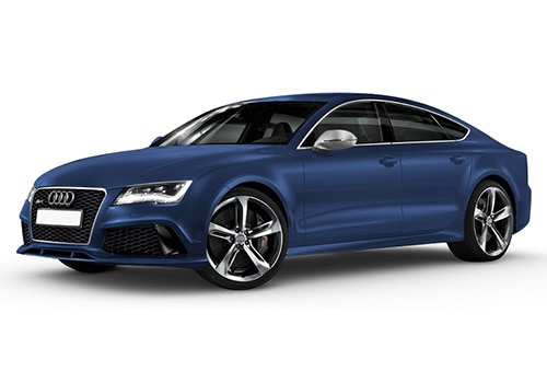 Audi RS7 Estoril Blue Crysta Color