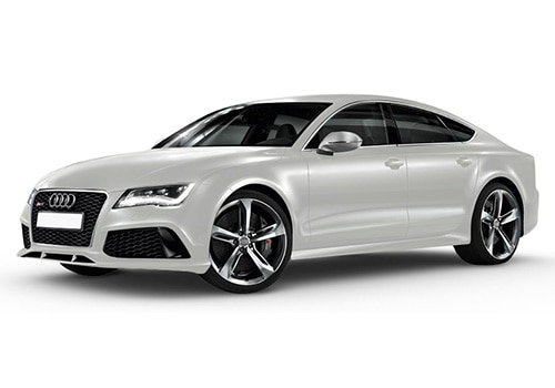 Audi RS7 Ibis White Color