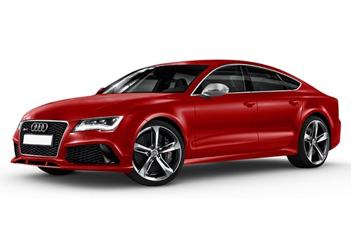 Audi RS7 Misano Red Pearl Effect Color