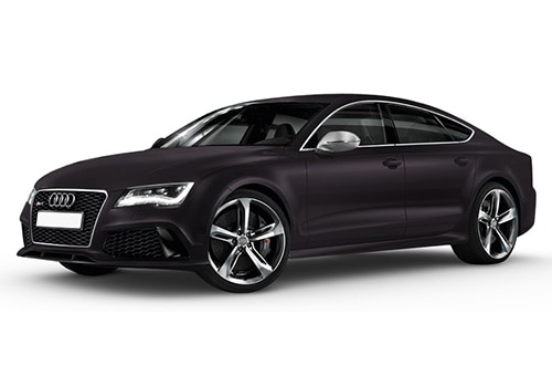 Audi RS7 Panther Black Crystal Effect Color