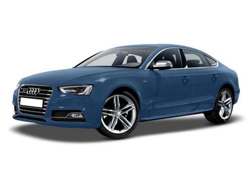 Audi S5 Sepang Blue Pearl Effect Color
