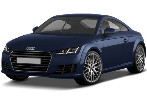 Audi TT Estoril Blue Crysta Color