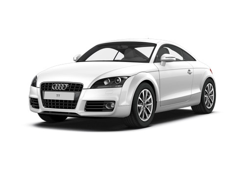 Audi TT Ibis White Color