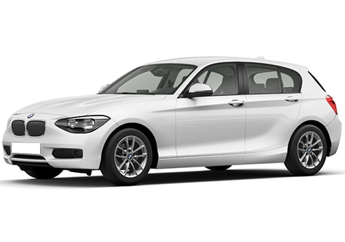 BMW 1 Series Alpine White Color
