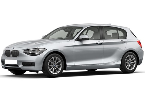 BMW 1 Series Galcier Silver Color