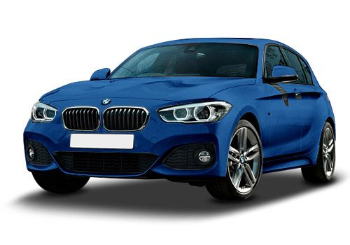 BMW 1 Series Mediterranean Blue Color