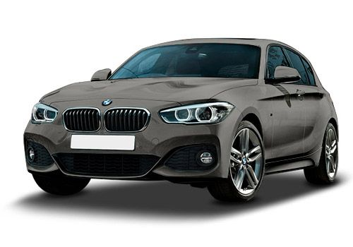 BMW 1 Series Platinum Silver Color