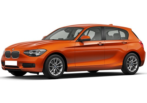 BMW 1 Series Valencia orange Color