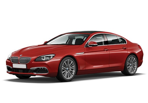 BMW 6 Series Melbourne Red Color