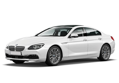 BMW 6 Series Alpine White Color