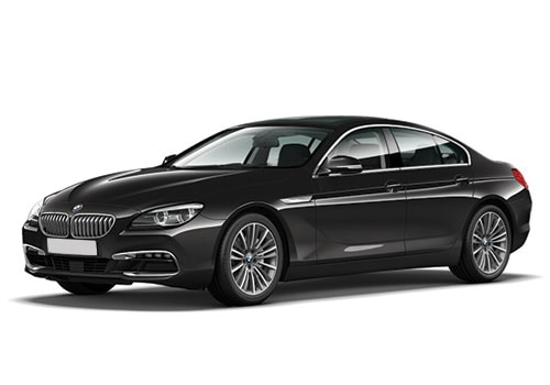 BMW 6 Series Black Color