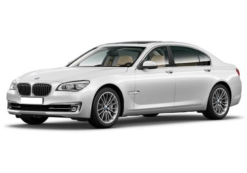 BMW 7 Series Mineral White Color