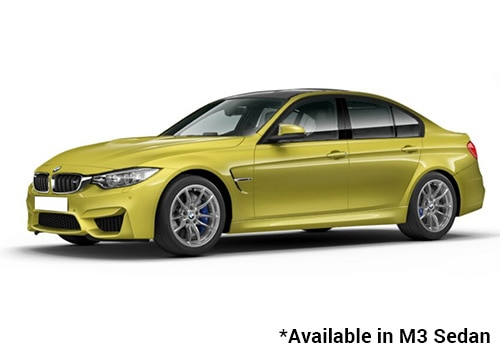 BMW M Series Austin Yellow - M3 Sedan Color