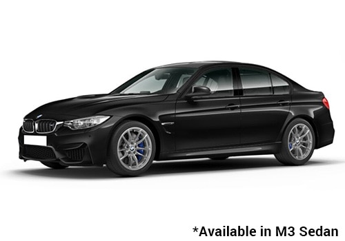 BMW M Series Black Sapphire - M3 Sedan Color