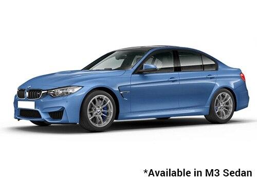 BMW M Series Yas Marina Blue - M3 Sedan Color