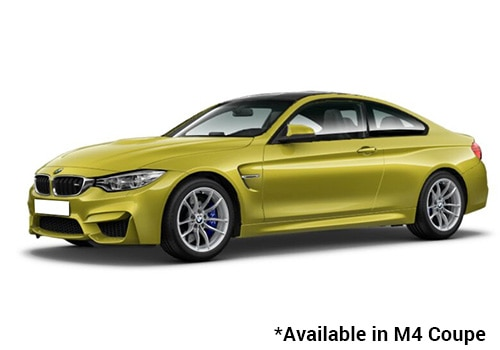 BMW M Series Austin Yellow - M4 Coupe Color