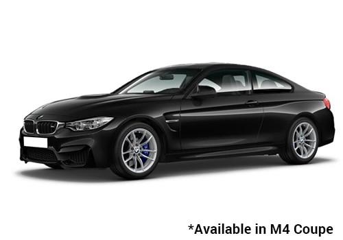 BMW M Series Black Sapphire -M4 Coupe Color