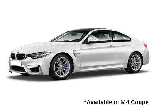 BMW M Series Mineral White - M4 Coupe Color