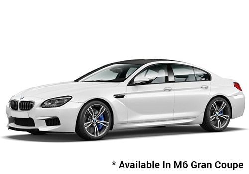 BMW M Series Alpine White - M6 Gran Coupe Color