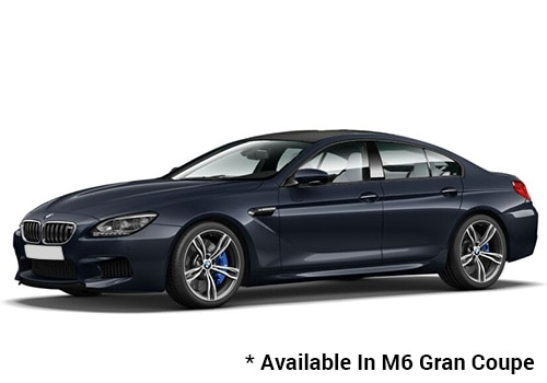 BMW M Series Imperial Blue Brilliant Effect - M6 Gran Coupe Color