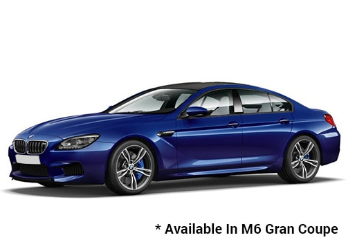 BMW M Series San Marino Blue - M6 Gran Coupe Color