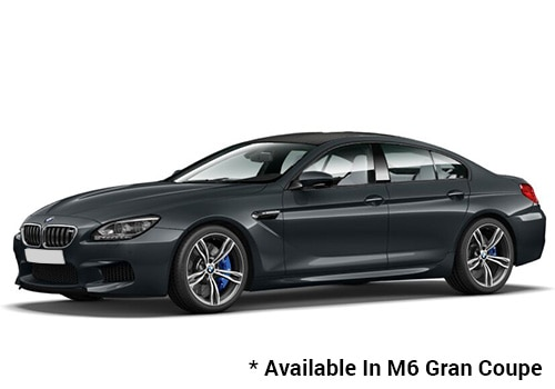 BMW M Series Singapore Grey - M6 Gran Coupe Color