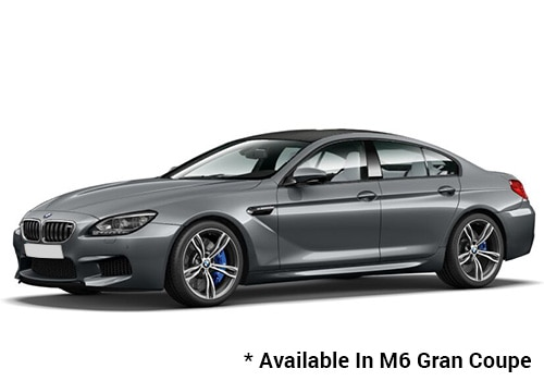 BMW M Series Space Grey - M6 Gran Coupe Color