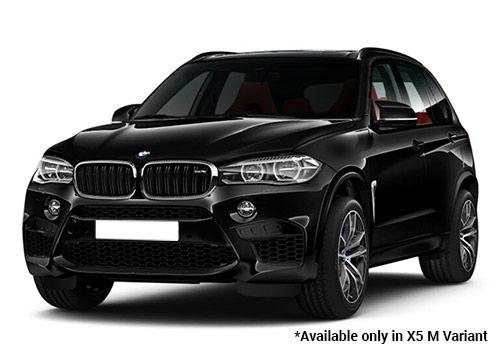 BMW M Series Black sapphire X5 M Variant Color