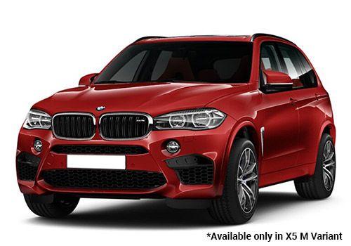BMW M Series Melbourne Red X5 M Variant Color