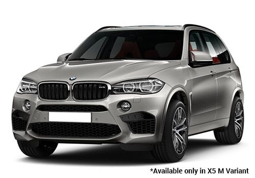 BMW M Series Metallic Donington Grey X5 M Variant Color