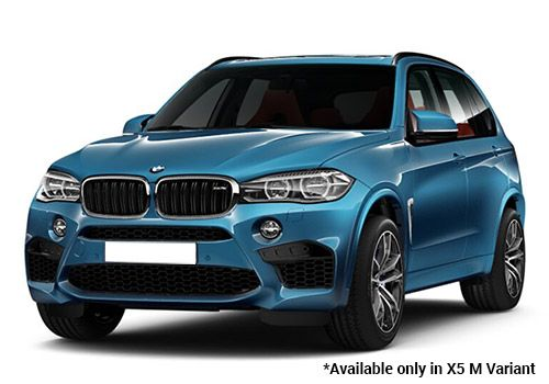 BMW M Series Metallic-Long-Beach-Blue X5 M Variant Color