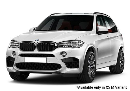 BMW M Series Mineral white X5 M Variant Color