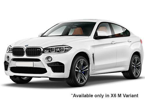 BMW M Series Alpine White X6 M Variant Color