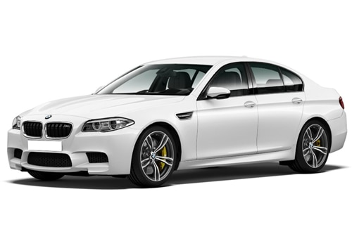 BMW M Series Alpine White Color