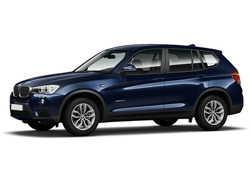 BMW X3 Deep Sea Blue Color