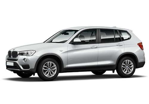 BMW X3 Glacier Silver Color