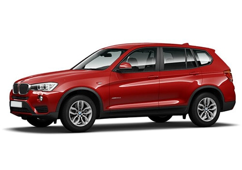 BMW X3 Melbourne Red Color