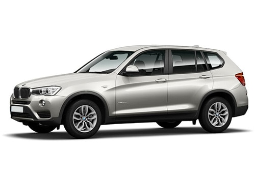 BMW X3 Mineral Silver Color
