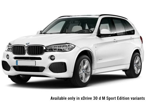 BMW X5 Alpine White X5 M Sport Color