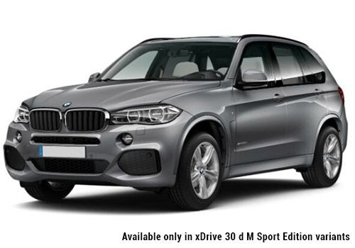 BMW X5 Space Grey X5 M Sport Color