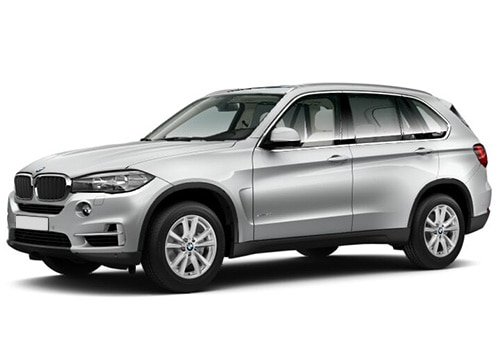 BMW X5 Glacier Silver Color