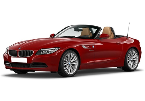 BMW Z4 Crimson Red Color