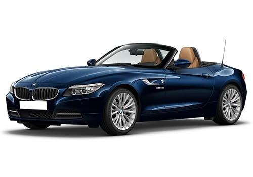 BMW Z4 Deep Sea Blue Color