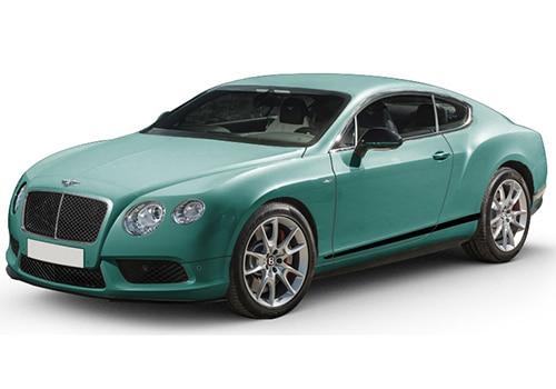 Bentley Continental Alpine Green Color