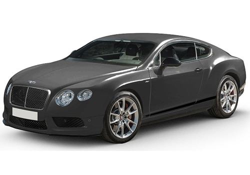 Bentley Continental ANTHRACITE Color